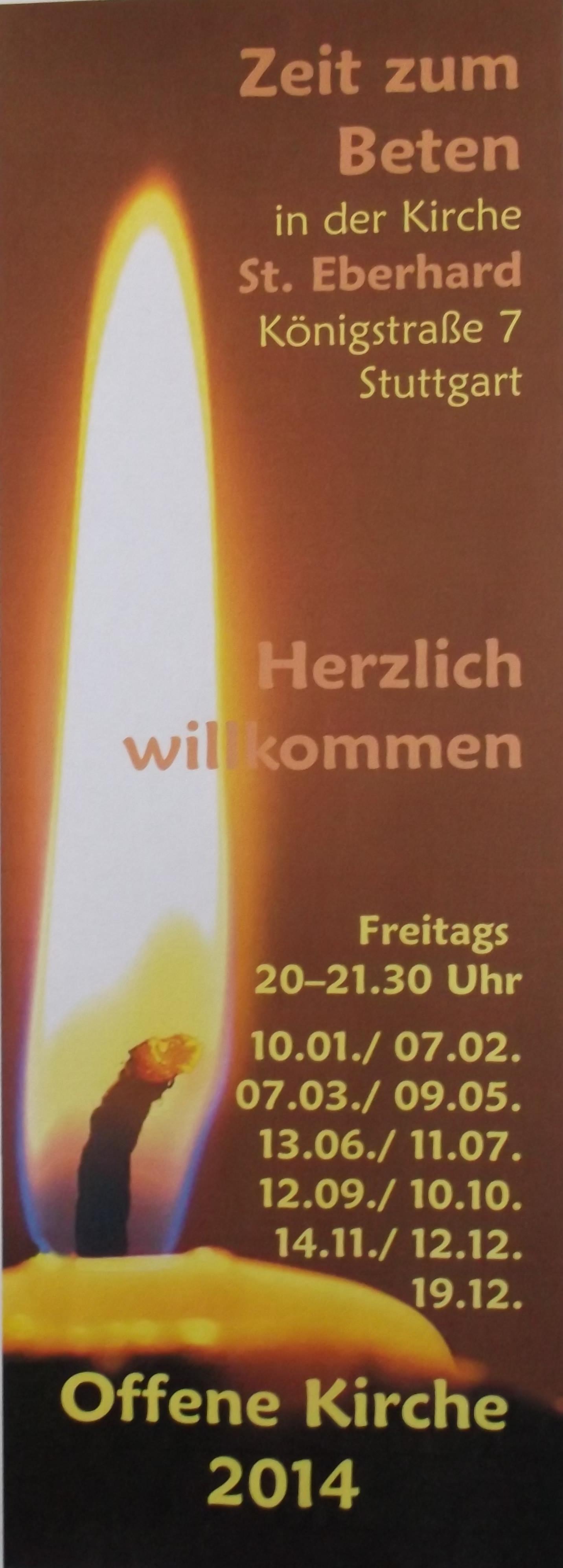 Flyer Offene Kirche